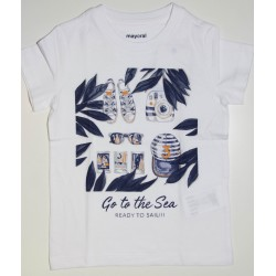 "T-SHIRT M/C ""READY TO SAIL"""