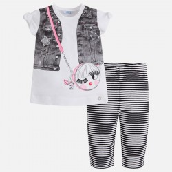 ENSEMBLE T-SHIRT ET LEGGING