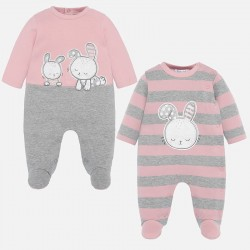 - Lot de 2 pyjamas interlock