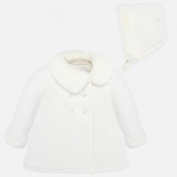 - manteau maille
