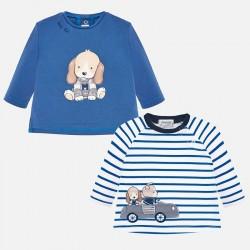 Lot de 2 t-shirts m/l