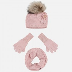 Ens.bonnet col gants