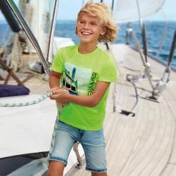 Bermuda jean 5 poches