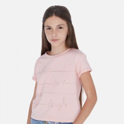 T-shirt m/c crop