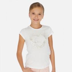 T-shirt m/c coeur