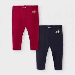 Lot de 2 leggings basic