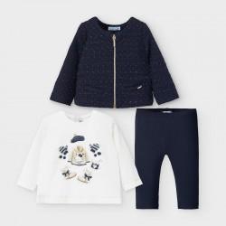 Ens. Cardigan, T-Shirt et Legging