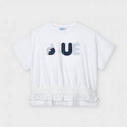 - T-shirt m/c motif blue