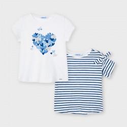 - Lot de 2 t-shirts m/c
