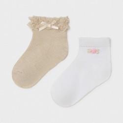 Set 2 paires de chaussettes