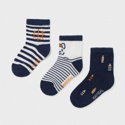 Set 3 chaussettes fantaisie