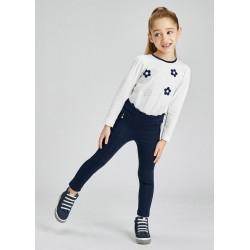- Pantalon long tricot roma fille